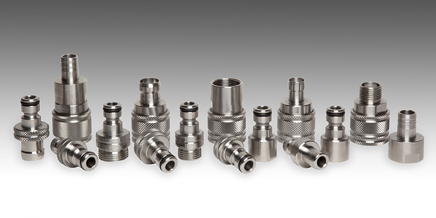Inox Quick Couplings for Water System